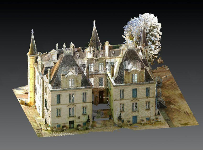 Relevé 3D des bâtiments