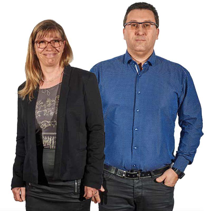 Pascal et Elisabeth de Concept Développement